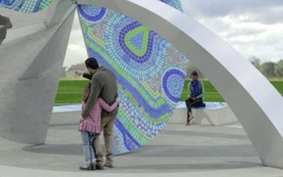 """MoRA Unveils """"Art at the Point"""""""