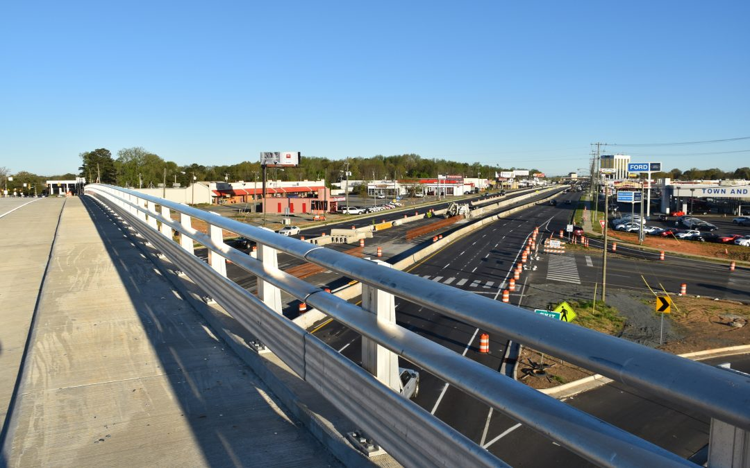 Idlewild Road Bridge Overpass Completed and Opened