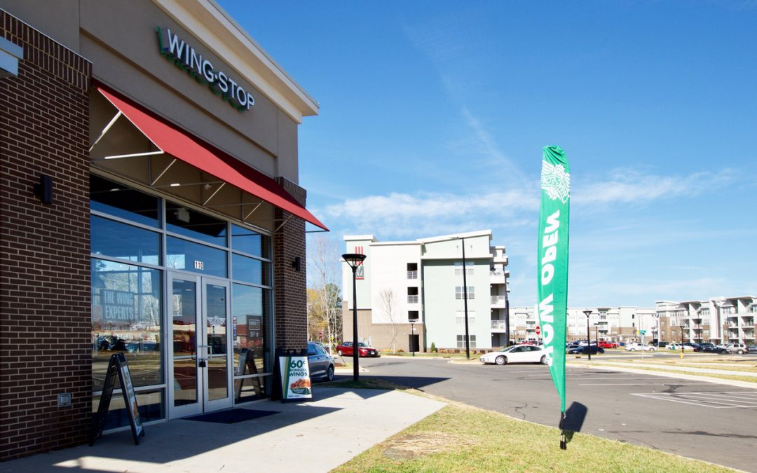 Sprint to anchor new retail building opening this fall