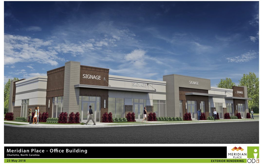 Credit union and orthodontics practice to anchor new office building